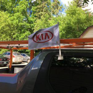 Custom Car flag
