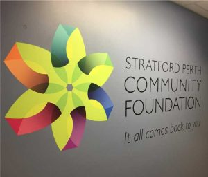 stratford community wall graphics