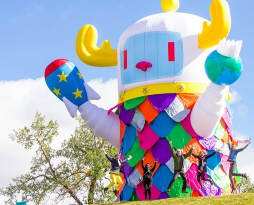 giant custom inflatable