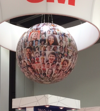3M inflatable sphere