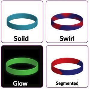 Custom bracelet options