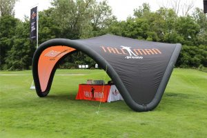 Inflatable event canopy